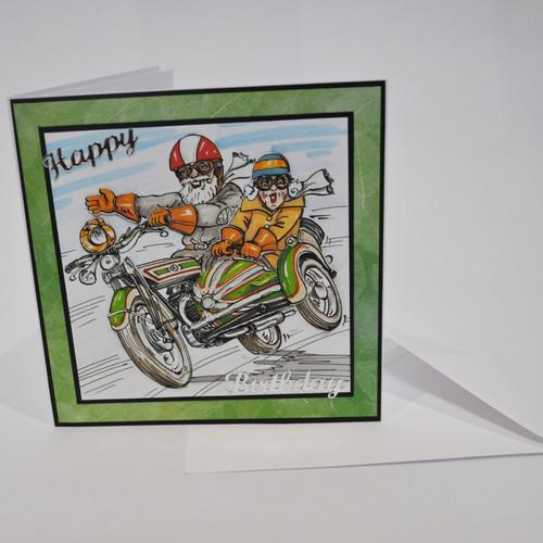 Boss Bikers Birthday Cards