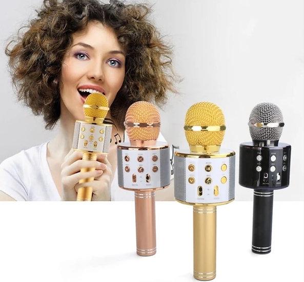 Sihirli Karaoke Bluetooth Mikrofon