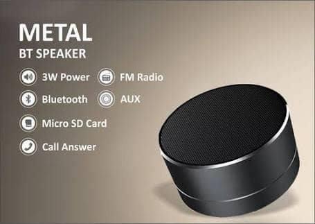 FM Radyo Özellikli Kablosuz Bluetooth Hoparlör Ses Bombası