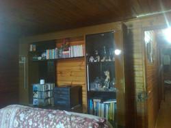 Uma parte da sala