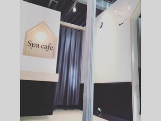 「 Spa cafe 」さんの内装デザインをさせていただきました。