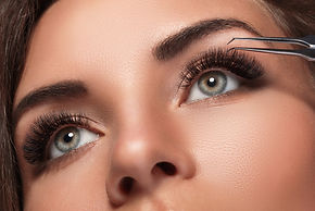 eyelash extensions results
