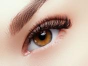 volume look eyelash extensions