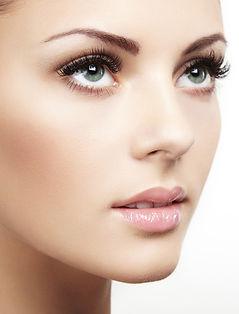 eyelash extensions face