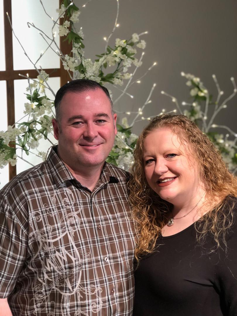 Youth Pastors Billy & Krista