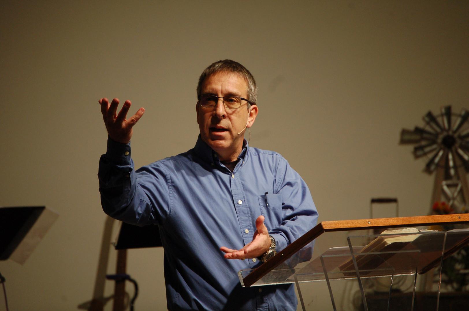 Pastor Rodney Preaching