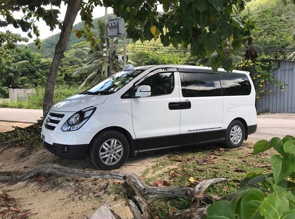 Start your holidays with a relaxing drive to your hotel or with a full day trip around praslin island seychelles. WhatsApp on +2482517186 or https://www.praslintaxitours.com