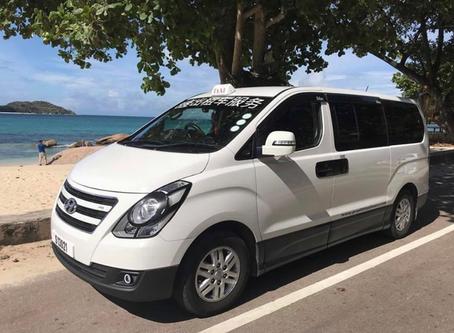 Taxi on Praslin Seychelles