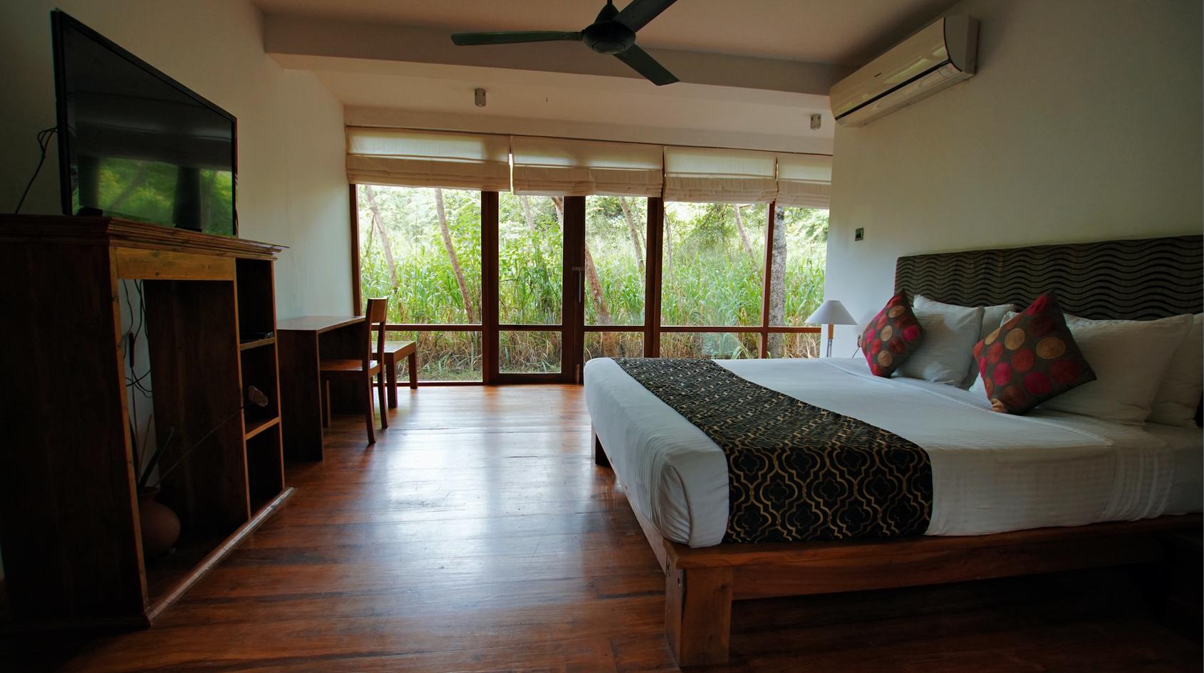 Bedroom in Family Villa
