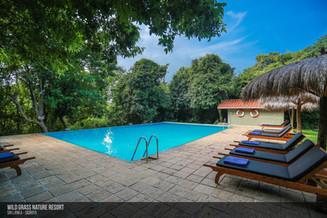 Enjoy a dip in our pool