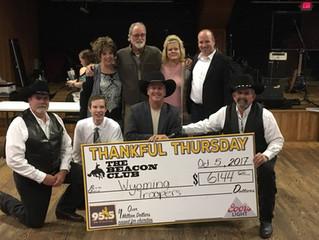 Thankful Thursday a Success!