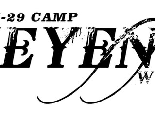 April Camp in Cheyenne, Wyoming!
