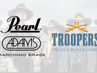 Troopers expand partnership with Pearl & Adams Marching Brass