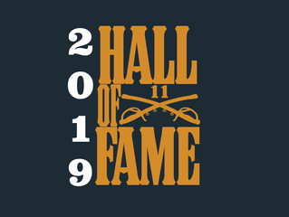 2019 Hall of Fame Announcement