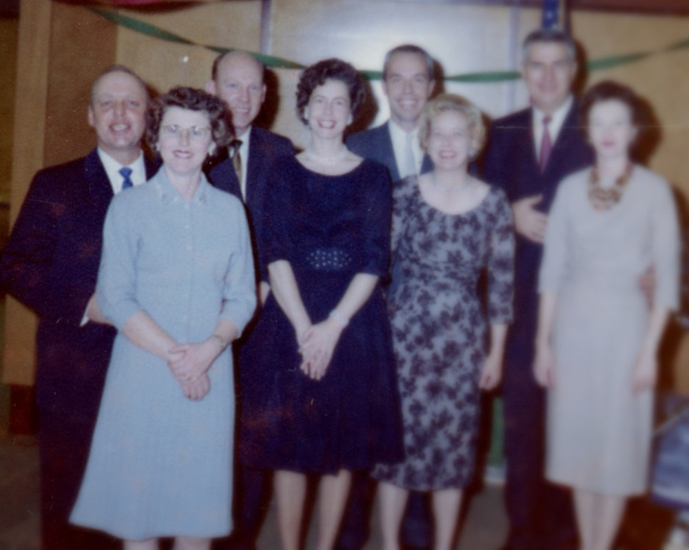 From left to right Jake and Mary Putnam, Swede Olson and wife, Jim and Grace Jones, and John and Margaret Doyle.