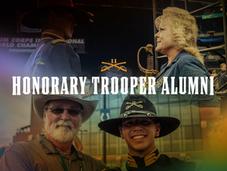 Honorary Trooper Alumni program started - Fred Morris & Kristy Jackson inducted