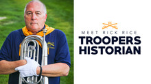 Meet Rick Rice, Troopers Historian