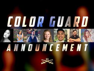 Full Color Guard Staff Announcement