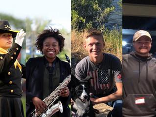 Meet the 2021 Troopers Drum Major Team