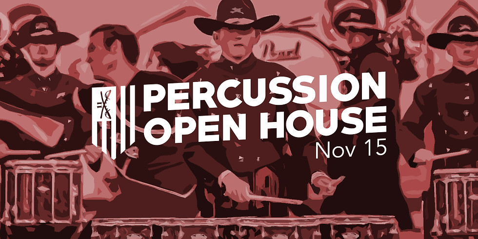 Percussion Open House - Meet the Staff