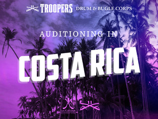 Troopers to hold auditions in Costa Rica