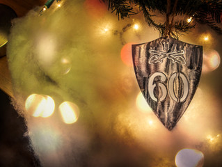 60th Anniversary Ornament