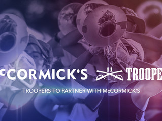 Troopers to Partner with McCormick's