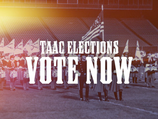 TAAC Elections: VOTE NOW!