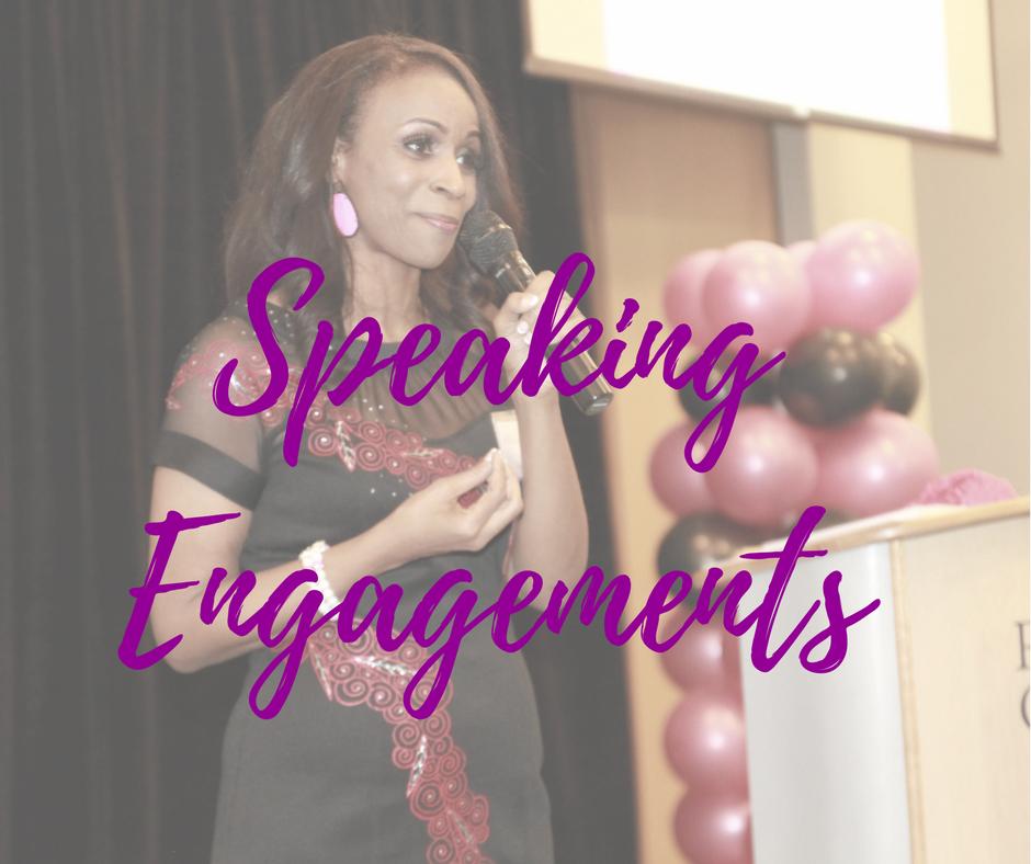 Speaking Engagements