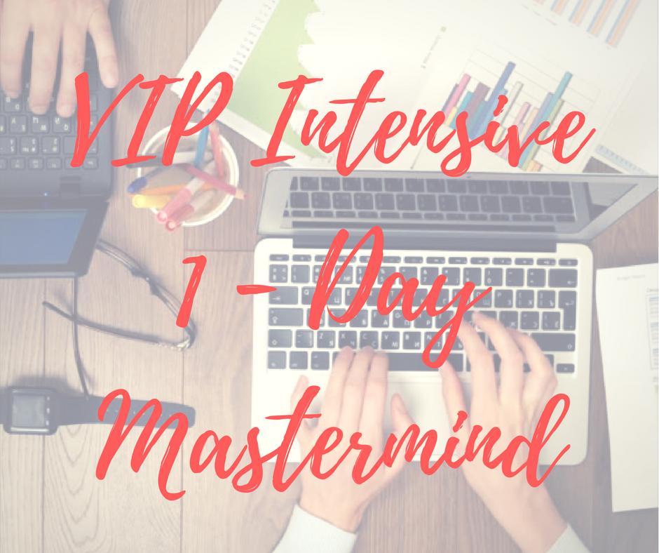 VIP Intensive 1 Day Mastermind
