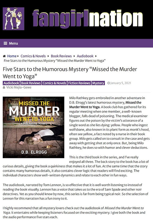 Fangirl Nation Missed the Murder review