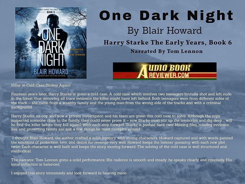 Audiobook Reviewer One Dark Night.jpg