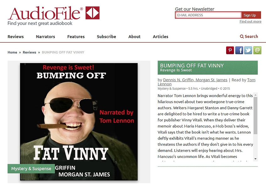 audiofile Magazinbe - Bumping off Fat Vi