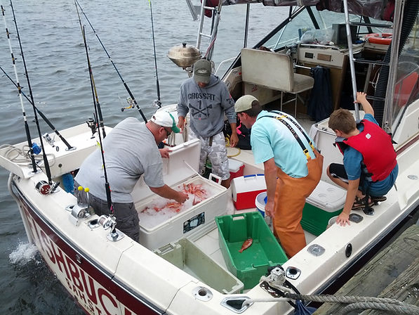 ground fishing trip