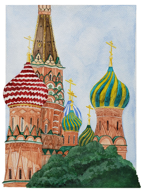 St. Basil's Cathedral (Detail)