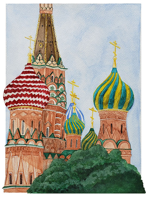St. Basil's Cathedral (details)