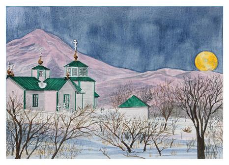 Ninilchik Moonrise