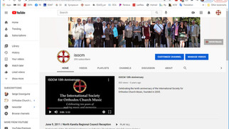 Subscribe to the Society's YouTube Channel