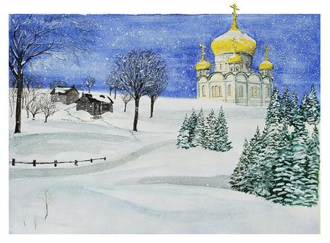 Russian Winter (St. Nicholas Monastery)