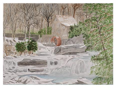 Glade Creek in Winter