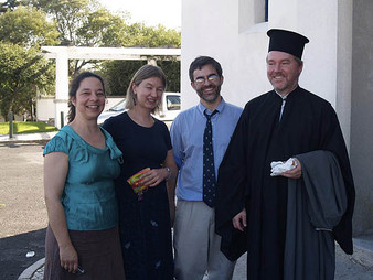 ISOCM Chair ordained to the holy priesthood, October 2007