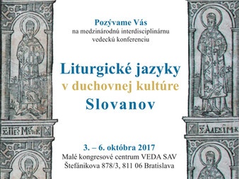 October Conference to Explore Liturgical Languages and Culture of the Slavs