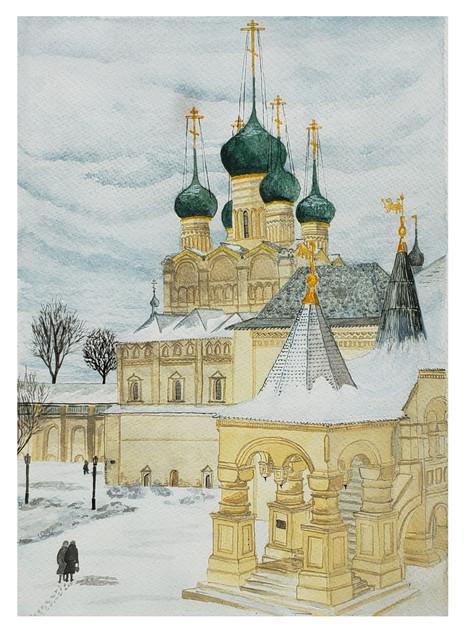 Rostov in Winter