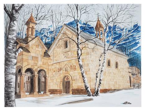 Stephatsminda Monastery