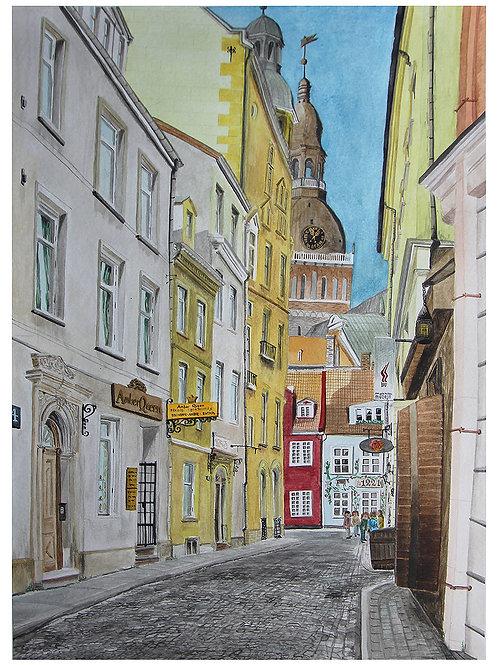 Krāmu iela - Old Riga