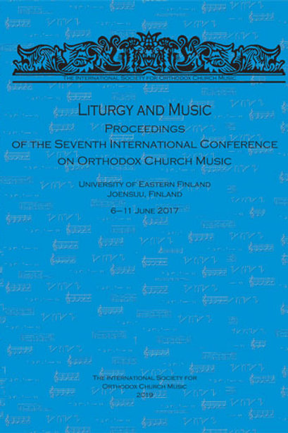 Liturgy and Music (7th Conference Proceedings)