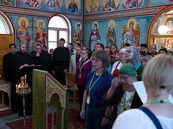 ISOCM Members Participate in Orthodox Church Festival