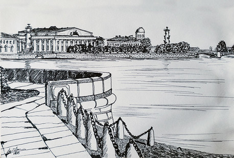 Embankment on the Neva