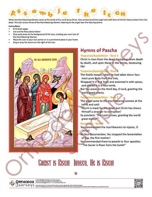 Myrrhbearing Women Icon Activity