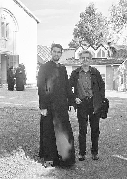 Dumitrescu and Arvanitis in Valamo